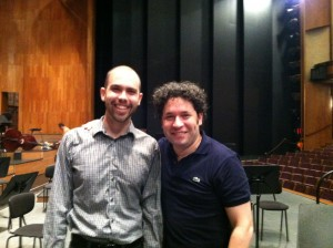 Ryan and Gustavo Dudamel